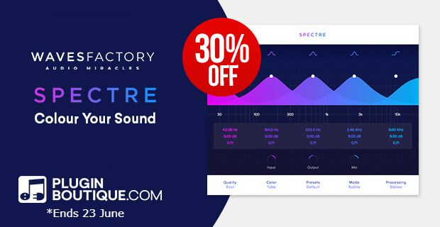 Wavesfactory Spectre Sale: Save at Plugin Boutique