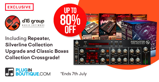 D16 Repeater Sale: Save at Plugin Boutique