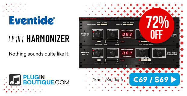 Eventide H910 Bundle Flash Sale: Save at Plugin Boutique