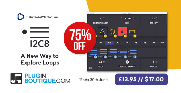 Re-Compose I2C8 Flash Sale, save 75% off at Plugin Boutique