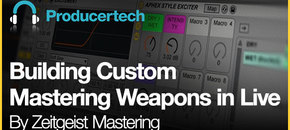 Building custom mastering weapons in live   loopmasters   582 x 298