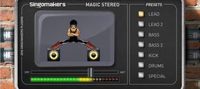 Magic stereo ui