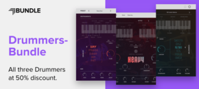 Plugin boutique ujam artwork drummers bundle